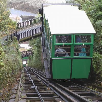 Box Icon The Lynton and Lynmouth Cliff Railway